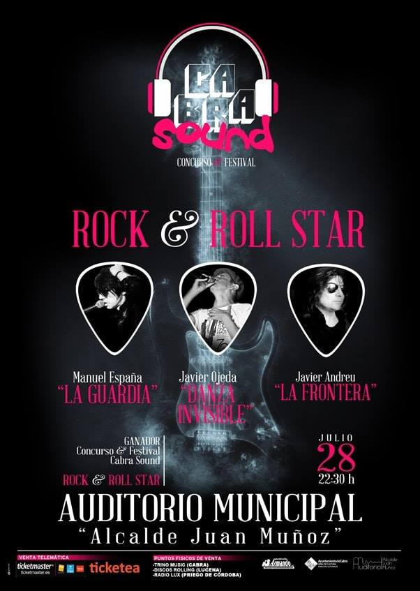 «Rokc & Roll Star» auditorio municipal de Cabra. 2018